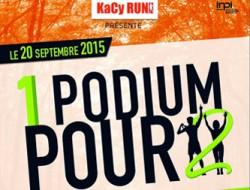 Kacy run 1 podium pour 2