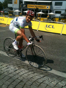 Jeff Tatard cyclisme