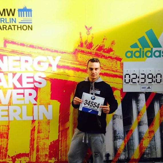 Jeff Tatard Marathon Berlin