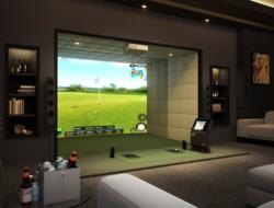 simulateur de golf indoor